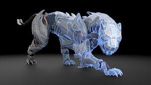 MechaPanther 3D model