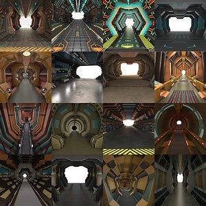 SciFi Interiors  Corridors model