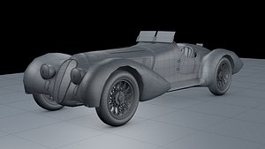 3D Alfa Romeo 8c 1938 model