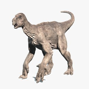 3D model Iguanodon - Rigged and Animated