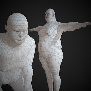 base mesh basemesh 3D model