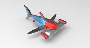 spacecraft modeled 3D model