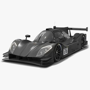 3D Ginetta G61-LT-P3 Le Mans Prototype LMP3 model