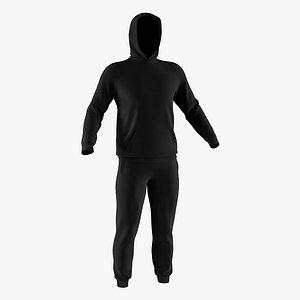 3D hoodie pants