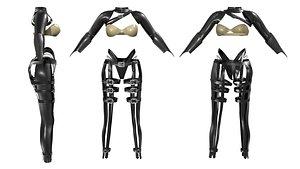 3D Katana Outfit