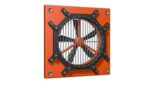 Sci fi ventilation model
