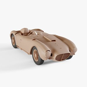 1953 Lancia D24 Pininfarina Spider Sport 3D