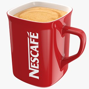 3D Nescafe Coffee Mug model