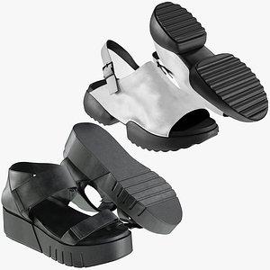 3D realistic heels collections model