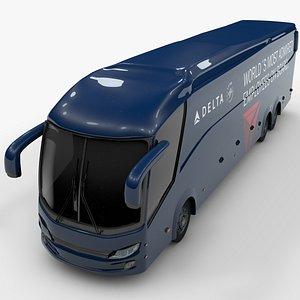shuttle bus delta 3D model