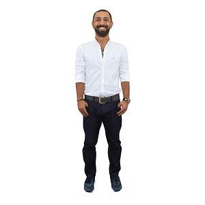 3D nice guy standing