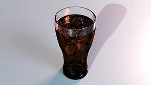 3D drink glass - coke
