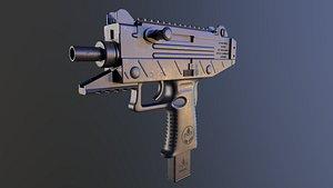 3D model IWI UZI PRO Pistol