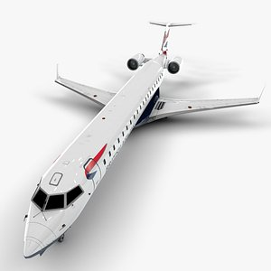 3D airways bombardier crj 700