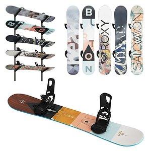 snowboard boards model