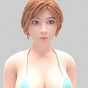 actress 11 3D model
