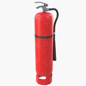 Fire Extinguisher 2 3D model