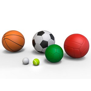 Sports Ball Collection 3D