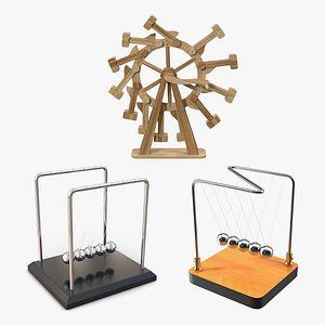 3D Perpetual Motion Machines Collection 2
