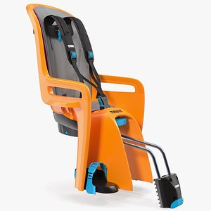 thule ridealong child bike seat 3D model