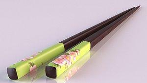 3D kuayzi bamboo sticks chopsticks