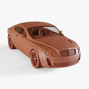 3D bentley continental supersports