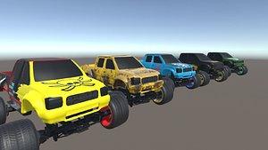 monster turks 3D model
