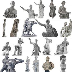 RenaissanceSculptureMasterpiece Collection model