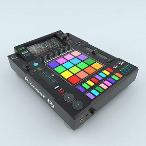 3D Controller DJ Player Pioneer DJS-1000 model