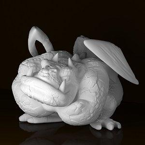 funny gargoyle 3D model