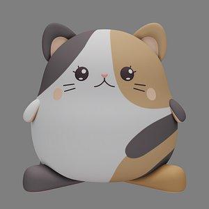 3D Plush Cat