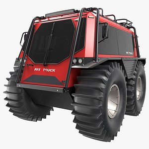 FAT TRUCK 2.8 C - Industrial Off-road Utility Vehicle - All-terrain vehicle - ATV 3D