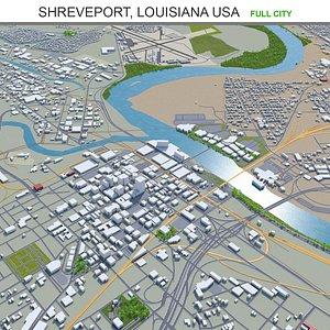 Shreveport Louisiana USA 3D model