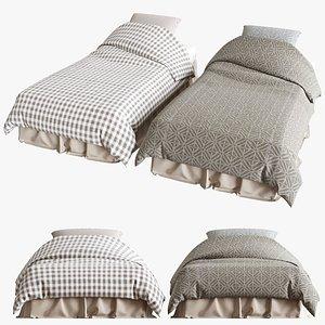 3d model of bed 45