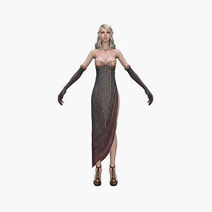 3D queen elf