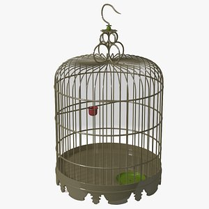chinese birdcage 3D