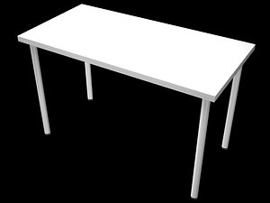 ikea linnmon table 3D