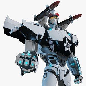 Prowl Transformers Prime 3D