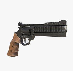 3D magnum revolver model