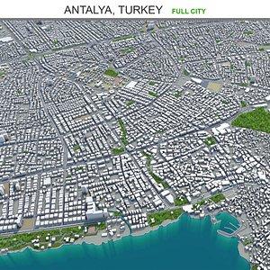 Antalya Turkey 3D