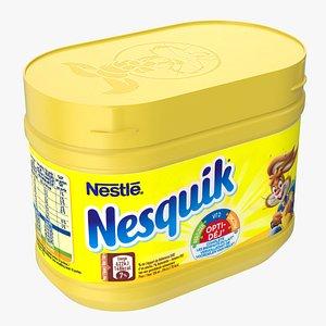 3D Nesquik Box model
