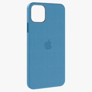 3D iphone 12 pro leather model