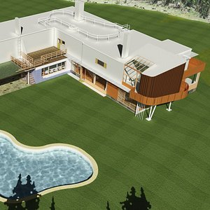 Villa Mairea by Alvar Alto 3D model