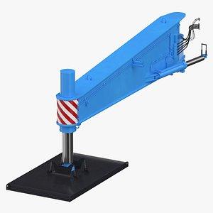 crane outrigger large 02 3D model