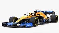 F1 McLaren  MCL35B 2021