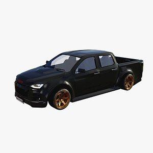 3D model Isuzu D-max 2020 Cap4