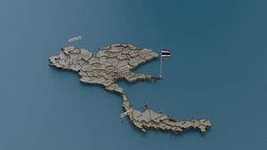 3D model state cities capital