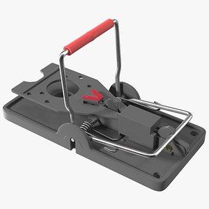 3D Victor Power Kill Mouse Trap Black