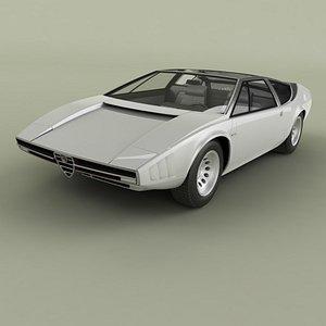 3D Alfa Romeo Iguana model