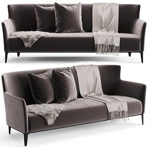 3D model Poliform Gentleman Sofa
